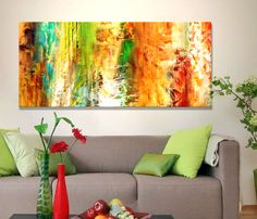 """""""Just Being"""" - Large canvas art by Jaison Cianelli @ http://www.cianellistudios.com/abstract_art.html"""