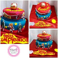 Torta Dragon ball z pinksugar #pinksugar #cupcakes  #homemade  #casero  #barranquilla #pasteleria #reposteriacreativa #tortas #fondant #reposteriabarranquilla #happybirthday  #cake #baking  #galletas #cookies  #pinksugar #buttercream #vainilla #oreo #passionfruit #cupcakesbarranquilla #dragonballz