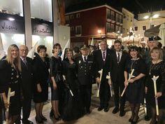 Santo Entierro con los compañeros del Gobierno municipal.  http://www.josemanuelprieto.es