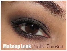 Makeup Look (Smoked Series) | Mate Smoked | Urban Decay Smoked Palete