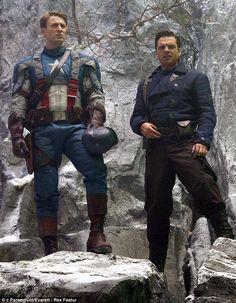 Captin America, Captain America And Bucky, Avengers Girl, Avengers Cartoon, Sebastian Stan, Loki, Marvel Avengers Assemble, Mcu Marvel, Chris Evans Funny