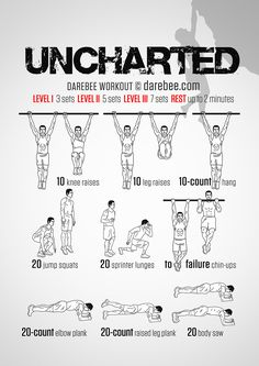 Uncharted Workout
