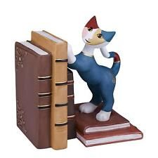 Goebel Teo e la sua biblioteca Rosina Wachtmeister Chats Figurines Porcelaine Kitsch, Bookends, Gallery Wall, Presents, Unisex, Sculpture, Home Decor, Material, Journal