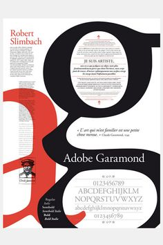 Adobe garamond, poster typography poster fonts, type posters, typographic p Buch Design, Typo Design, Graphic Design Typography, Web Design, Japanese Typography, Design Logo, Poster Fonts, Type Posters, Typographic Poster