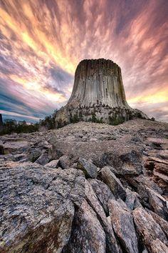 Beautiful World, Beautiful Places, Beautiful Pictures, Basalt Columns, Giant Tree, Landscape Wallpaper, Nature Scenes, Amazing Nature, Wyoming