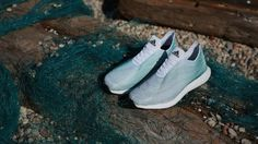 Adidas Has Created Shoes Made Entirely From Ocean Garbage
