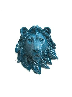 Hey, I found this really awesome Etsy listing at https://www.etsy.com/listing/181979444/faux-taxidermy-small-lion-head-wall