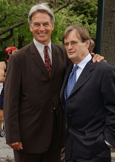2003-05-14 : Mark Harmon and David McCallum - NCIS - CBS Network Up-Fronts for Fall 2003, New York | Flickr - Photo Sharing!