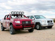 Fully Caged Baja 1000 Honda Ridgeline!