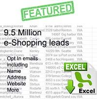 Business database email lists for B2B from US, UK, Canada and Australia plus Consumer email leads, business marketing lists and targeted and optin leads.