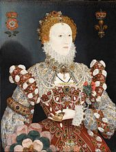 Queen Elizabeth I: the Pelican Portrait, by Nicholas Hilliard (c. 1573), in which Elizabeth I wears the medieval symbol of the pelican on her chest