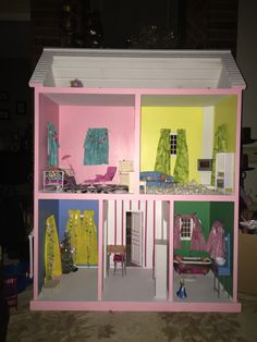 Inside the doll house