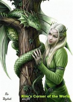 I am an Elven princess who was raised by dragons