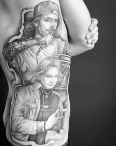 William Shakespeare and Ludwig van Beethoven HipHip tribute. Ink Instagram, Grey Scale, Black Ink Tattoos, William Shakespeare, Van, Statue, Photo And Video, Vans, Sculptures