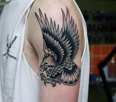 75 Eagle Tattoos For Men A Soaring Flight Of Designs regarding Top tattoo style ideas eagle Tattoo for men and women from traditional black and grey designs to colorful image