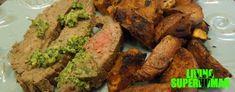 Roasted Garlic Flank Steak