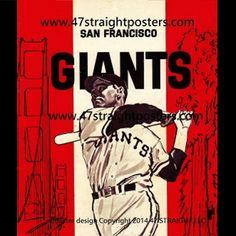 Best Father's Day Gifts 2015, San Francisco Giants Father's Day Gift Ideas, SF Giants vintage baseball drink coasters, San Francisco Giants drink coasters, Giants baseball vintage art, Row One Brand sports gifts, Father's Day sports gifts