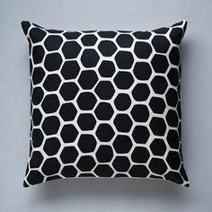 Image of Honey Pillow - Raven Black