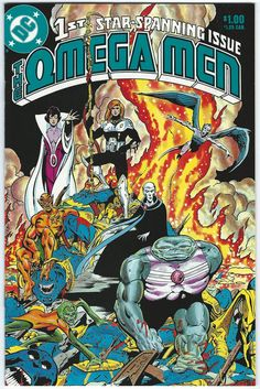 Omega Men Vol 1 #1 NM Keith Giffen DC Comics 1983 - Other
