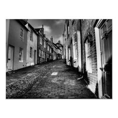 Up Keere Street :  Keere Street in Lewes Sussex, England