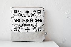 Navajo print clutch