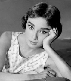 Audrey Hepburn in 'Love in the Afternoon',1957.