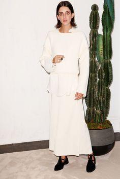 Chadwick Bell Spring 2015 Ready-to-Wear Fashion Show Collection Runway Fashion, Fashion Show, Fashion Design, Ny Fashion, White Fashion, Vogue, Spring Summer 2015, Spring Collection, Modest Fashion