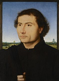 A FLEMISH RENAISSANCE MASTER IN ROME  Hans Memling Exhibition at the Scuderie del Quirinale, Rome Memling: Portrait of a Man (c 1470), oil on panel. Frick Collection, New York