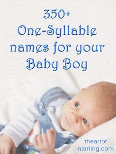 Do you have a long surname and need a short first name to balance it out? This is the list for you!  #babynames Brought to you by theartofnaming.com