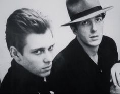 The Clash - Joe Strummer and Paul Simonon
