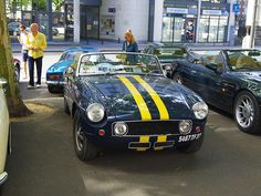 MG B cabriolet de 1973 5467 TF 37 - 16 juin 2013 (Grand Prix de Tours, boulevard Béranger - Tours)