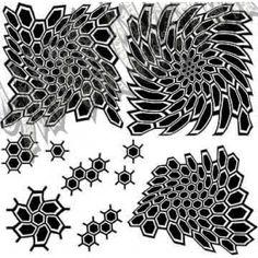 Kryptek pattern | Kryptek style stencil
