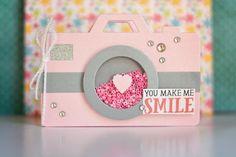 Camera photography card