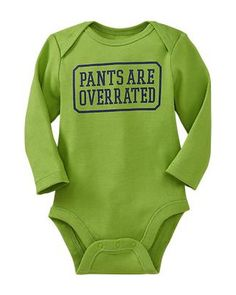 We agree, kiddo! :) Click above to buy this sassy #onesie for your baby.
