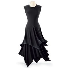 Lettuce Edged Dress - New Age, Spiritual Gifts, Yoga, Wicca, Gothic, Reiki, Celtic, Crystal, Tarot at Pyramid Collection