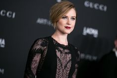Evan Rachel Wood Wearing Gucci at 2014 LACMA Art + Film Gala in Los Angeles