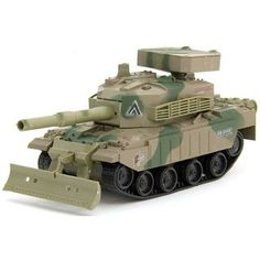 Firing Thunder 1:30 Electric RC Tank with Airsoft Bullets