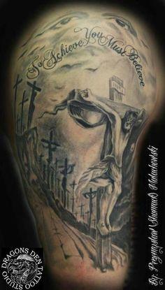 jesus belief tattoo - 20 Holy Jesus tattoos  <3 <3