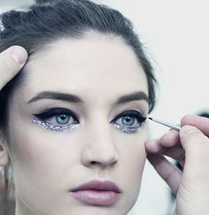 Kate Goodling Backstage at Chanel Spring 2014 Couture.
