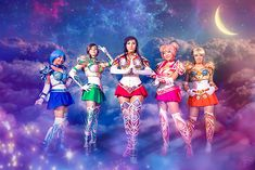 Battle Armor Sailor Scouts from Sailor Moon Cosplay http://geekxgirls.com/article.php?ID=4849