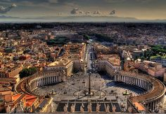 Vatican City: Home to The Roman Catholics. Proud to be one :)