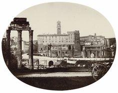 Carlo Baldassare Simelli Forum Romanum 1864 (ca)