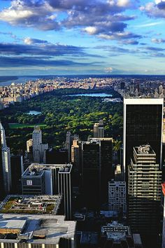 Penthouse View - Central Park - New York City