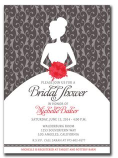 25 Amazing Wedding Shower Template PSD