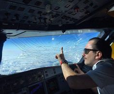 A flight crew's nightmare!