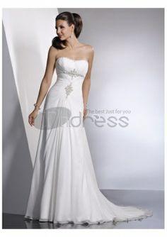 A-ligne de robes de mariage de plage complaisance 2016 Wedding Dresses d064bdfcae8e
