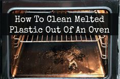 Dear Home Ec 101, My husband nearly burnt our house down recently because he turned the oven on and forgot to take our plastic strainer out of it. The plastic is everywhere, now hard and stuck. I'm not exactly kitchen-smart, especially when it comes to the stove.… Keep reading...