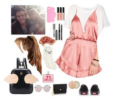 """""""Be-meeting fans while out in LA with ur bf Harry"""" by onedirectionnhllz ❤ liked on Polyvore featuring MANGO, Missguided, Vans, Matthew Williamson, Empreinte, STELLA McCARTNEY, ASOS, Figs & Rouge, Bobbi Brown Cosmetics and Comme des Garçons"""