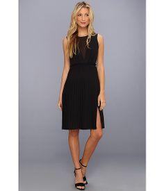 BCBGMAXAZRIA Freja Sleeveless Pleated Dress