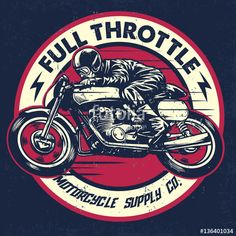 """Full Throttle"" Motorcycle Supply Company"